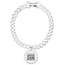 Thriving - Breast Cancer Bracelet