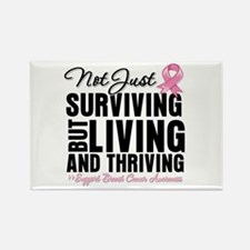 Thriving - Breast Cancer Rectangle Magnet (10 pack