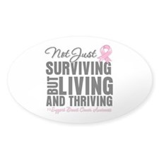Thriving - Breast Cancer Decal