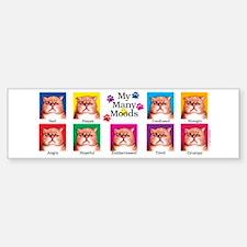 Many Moods Sticker (Bumper)