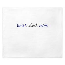 Best.Dad.Ever. King Duvet