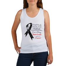 Melanoma Strong Survivor Women's Tank Top
