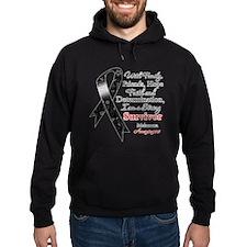 Melanoma Strong Survivor Hoodie