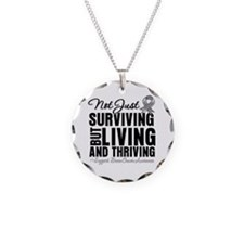Thriving - Brain Cancer Necklace