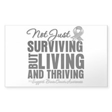 Thriving - Brain Cancer Decal