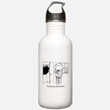 Decisions Water Bottle