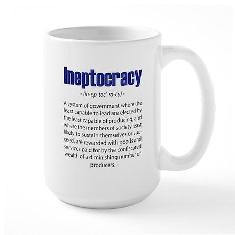 Ineptocracy Large Mug