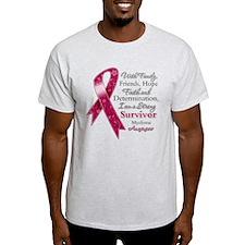 Myeloma Strong Survivor T-Shirt