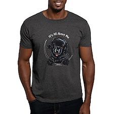 Black Newfie IAAM T-Shirt
