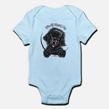 Black Newfie IAAM Infant Bodysuit