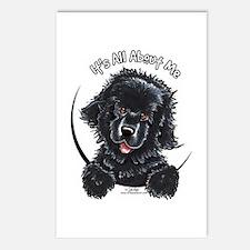 Black Newfie IAAM Postcards (Package of 8)