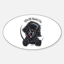 Black Newfie IAAM Decal