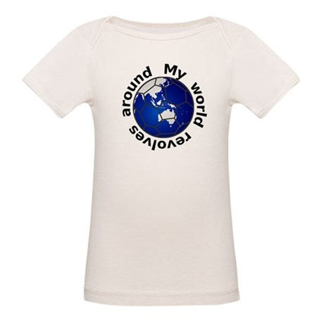 Football Soccer Organic Baby T-Shirt