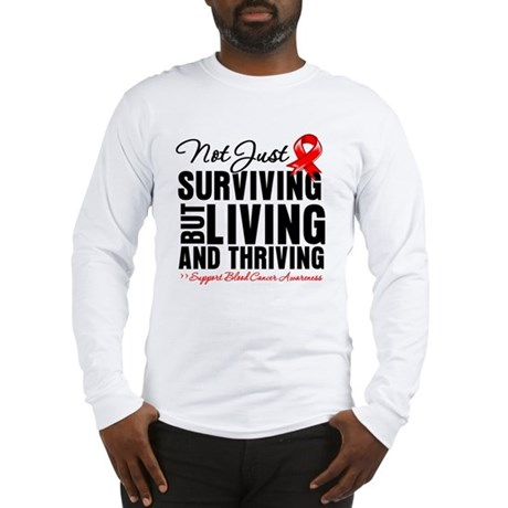 Thriving - Blood Cancer Long Sleeve T-Shirt