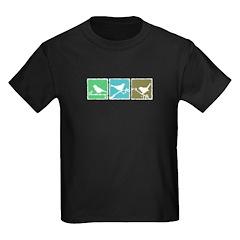 Bird Grunge Silhouette T