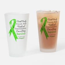 Non-Hodgkins Strong Survivor Drinking Glass