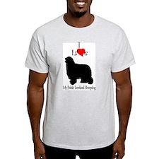 Polish Lowland Sheepdog Ash Grey T-Shirt