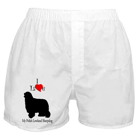 Polish Lowland Sheepdog Boxer Shorts