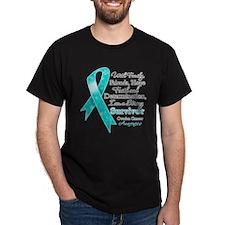 Ovarian Cancer Strong Survivor T-Shirt