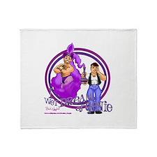 I Wet Dream of Genie Throw Blanket
