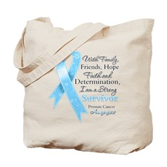 Strong Prostate Cancer Tote Bag