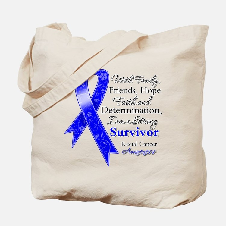 rectal cancer bags totes personalized rectal cancer