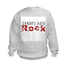 Seniors 2012 Rock Sweatshirt