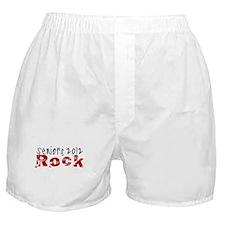 Seniors 2012 Rock Boxer Shorts
