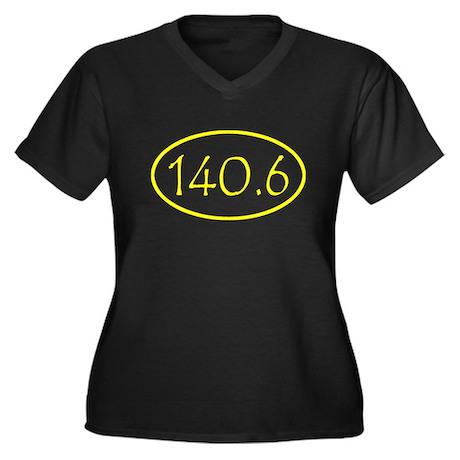 ironman shirt-yellow.png Women's Plus Size V-Neck