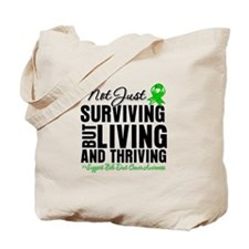 Thriving Bile Duct Cancer Tote Bag