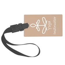 Yoga Instructor Luggage Tag