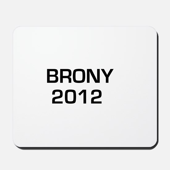 Brony 2012 Mousepad