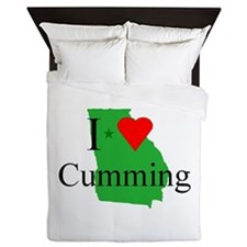 I Love Cumming Queen Duvet