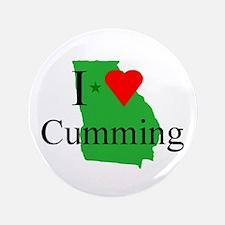 "I Love Cumming 3.5"" Button"
