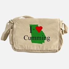 I Love Cumming Messenger Bag