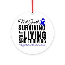 Anal Cancer Survivor Ornament (Round)