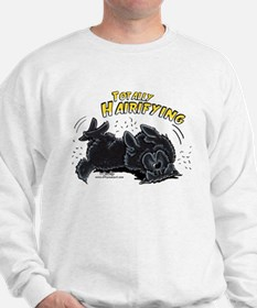 Black Newfie Totally Hairifying Sweatshirt