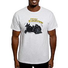 Black Newfie Totally Hairifying T-Shirt