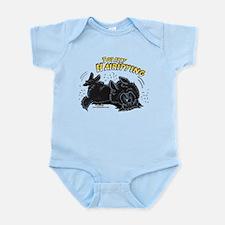 Black Newfie Totally Hairifying Infant Bodysuit