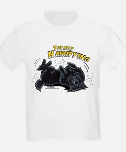 Black Newfie Totally Hairifying T-Shirt