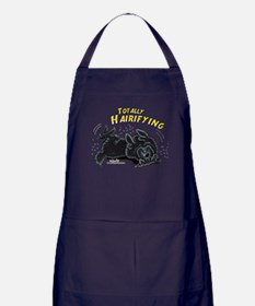 Black Newfie Totally Hairifying Apron (dark)