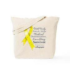 Testicular Cancer Survivor Tote Bag