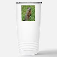 Woodchuck eating Travel Mug