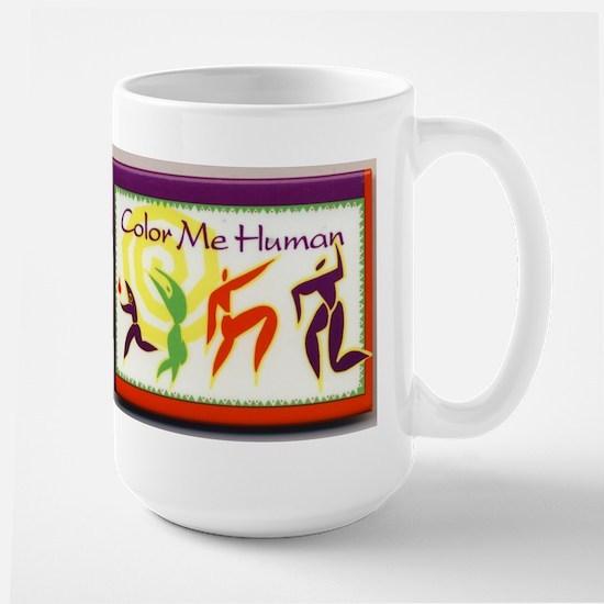 Color Me Human Large Mug