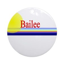 Bailee Ornament (Round)