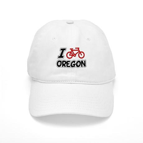 I Love Cycling Oregon Cap