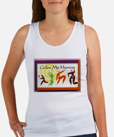 Color Me Human Women's Tank Top