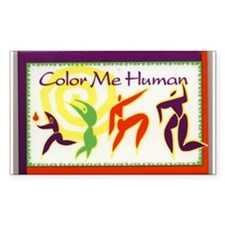 Color Me Human Decal