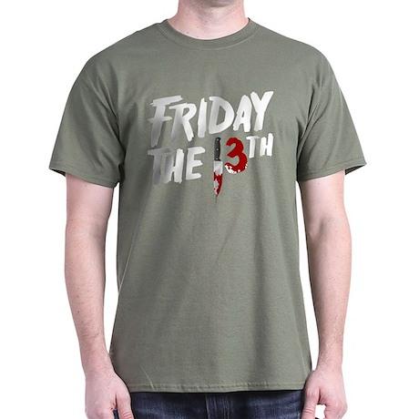 Friday the 13th Logo Dark T-Shirt