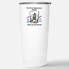 Speakeasy Stainless Steel Travel Mug